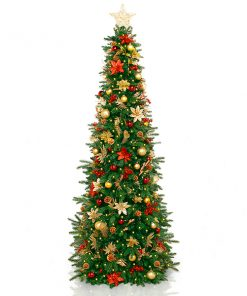 decorated artificial christmas tree rent my christmas tree - Rent A Decorated Christmas Tree